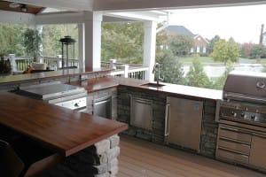 Preparing Your Outdoor Wood Countertop