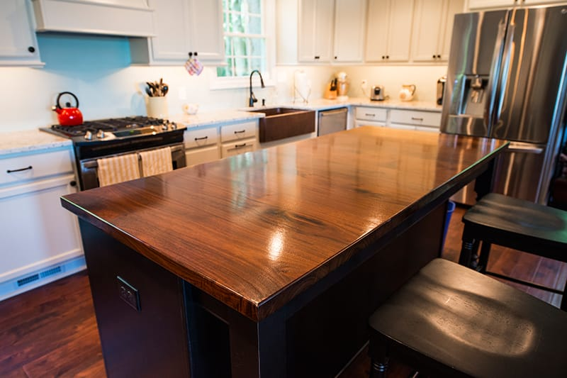 Walnut Kitchen Island Maryland Wood Countertops