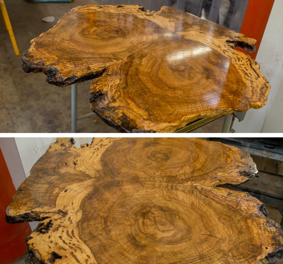 Oak Burl Tabletop Maryland Wood Countertops