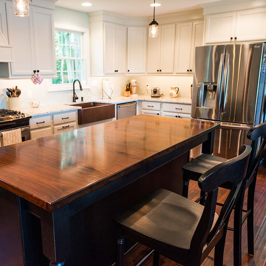 Why Should I Use Black Walnut Countertops Over Bamboo Countertops?