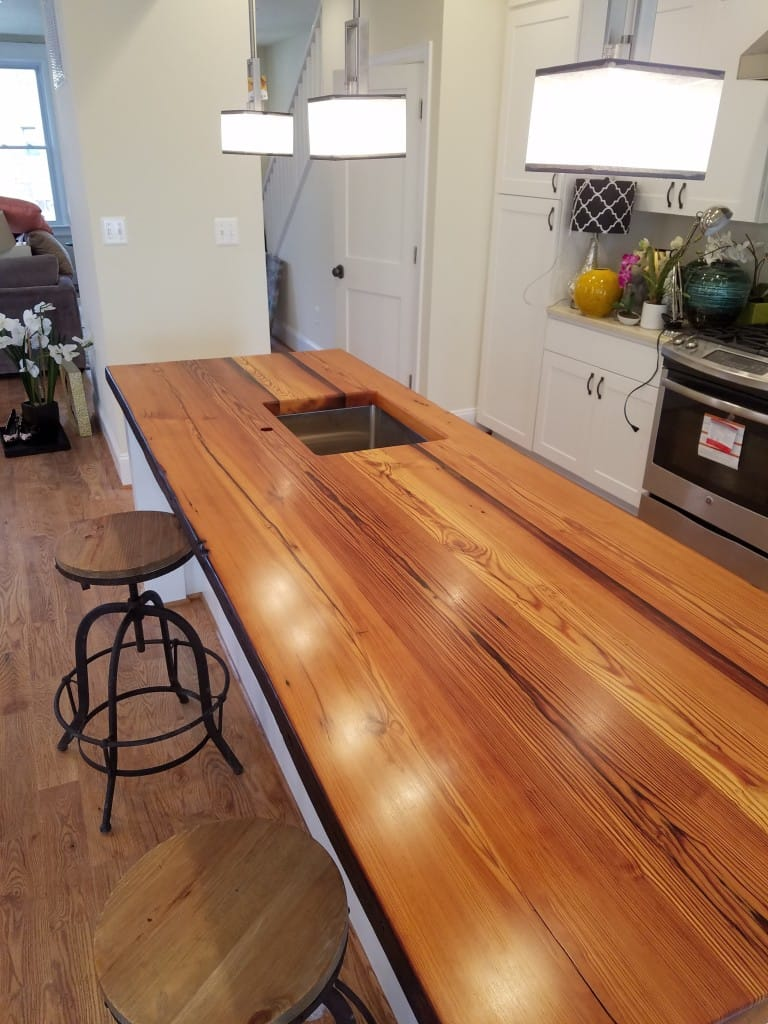 Reclaimed pine island washington dc make over maryland for Reclaimed wood dc