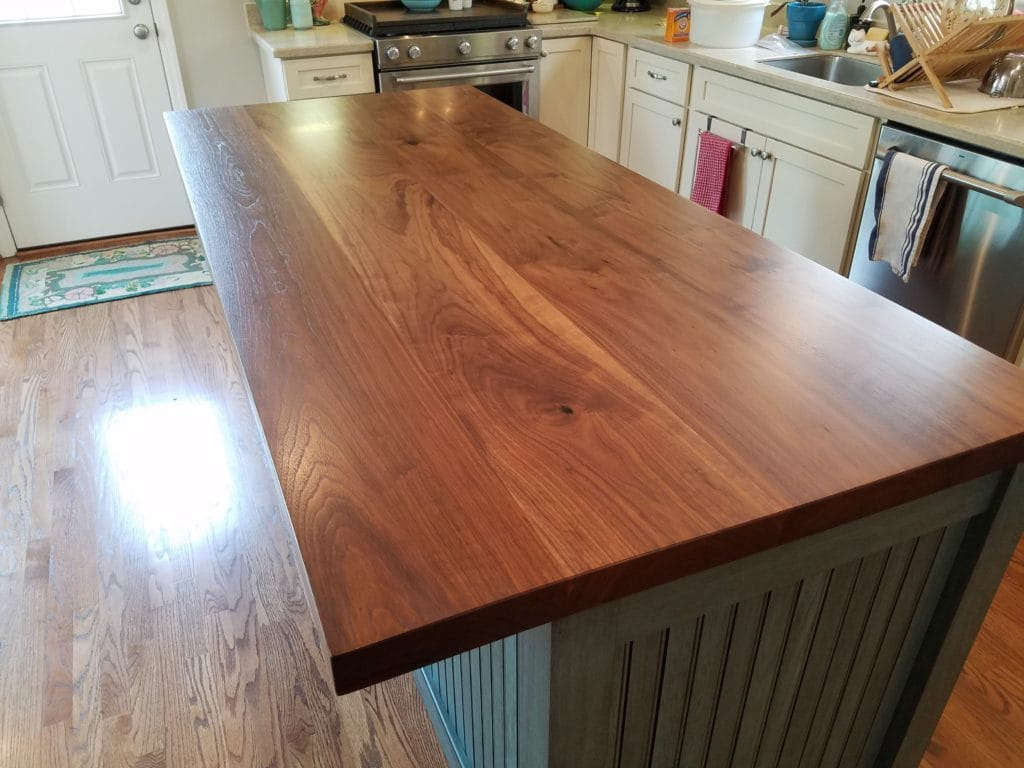When Considering Different Types Of Countertops Go Wood
