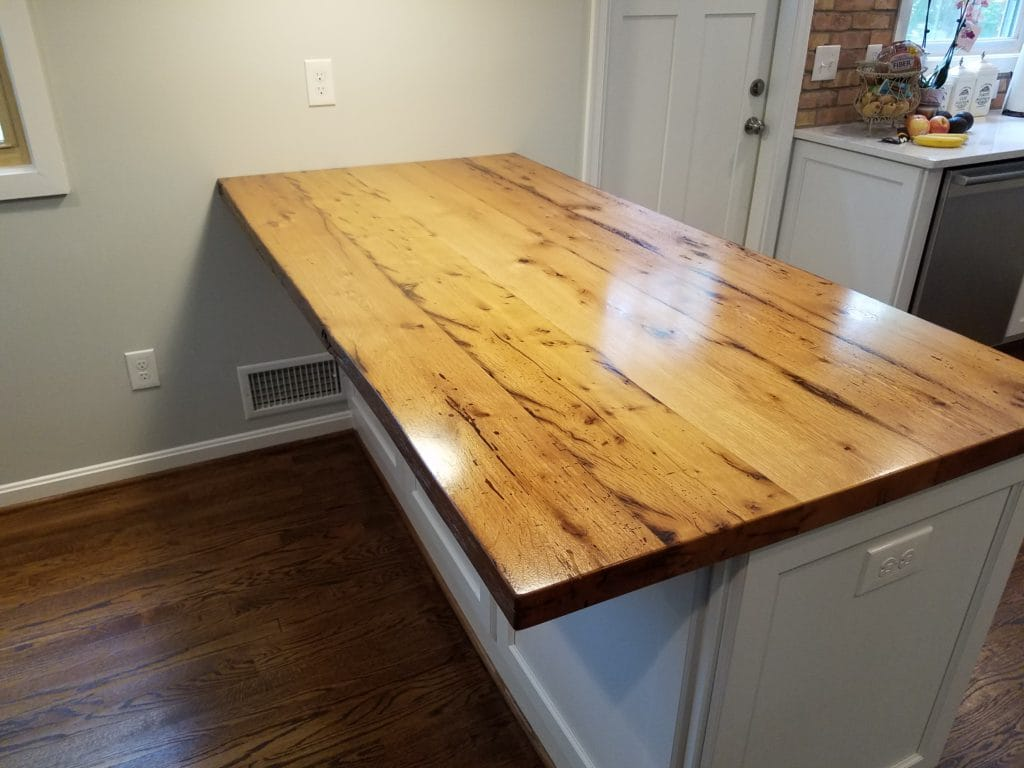 reclaimed white oak peninsula 2