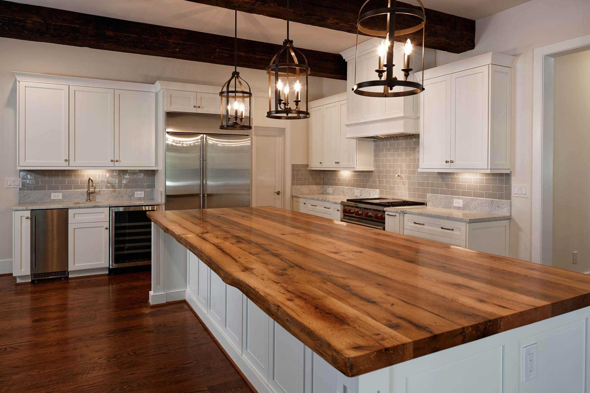 Reclaimed Beams Amp Oak Island Maryland Wood Countertops